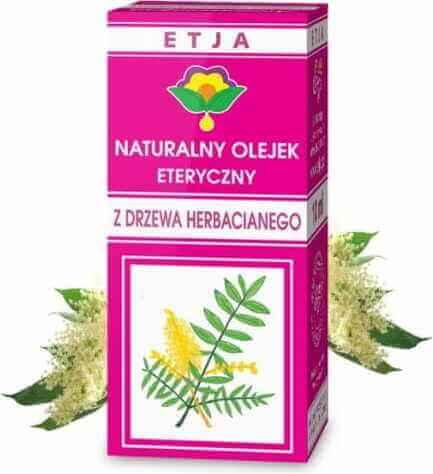 Olejek z drzewa herbacianego na odkażanie