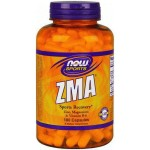 Magnez Cynk i Witamina B6 ZMA Combination of Zinc Magnezsium & Vitamin B-6 180 kapsułek NOW SPORTS
