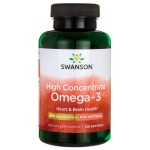 High Concentrate Omega-3 MEG-3 120 kapsułek SWANSON