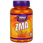 Magnez Cynk i Witamina B6 ZMA Combination of Zinc Magnezsium & Vitamin B-6 90 kapsułek NOW SPORTS