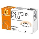 Propolis plus cynk i witamina C 60 tabletek Apipol Farma