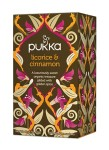 Herbata licorice and Cinnamon Bio 20 saszetek Pukka