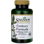 Multiwitamina bez żelaza Century Formula without Iron 130 tabletek SWANSON