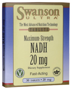 NADH Fast-Acting 20mg 30 tabletek SWANSON
