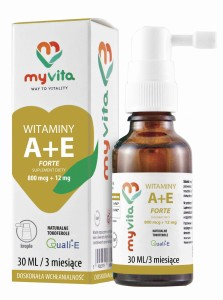 Witamina A 800mcg + E 12mg Forte 30ml krople MyVita