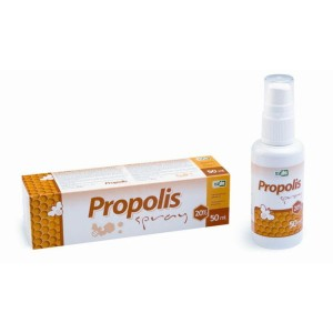 Propolis Spray 20% roztwor 50 ml VIRDE