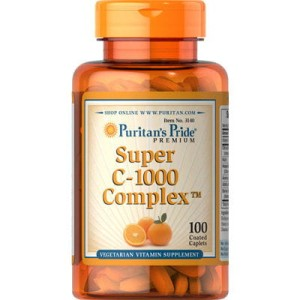 Witamina Super C-1000 Complex 100 tabletek Puritan's Pride