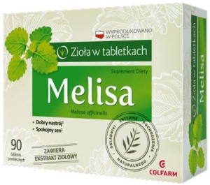 Melisa 160mg 90 tabletek Colfarm