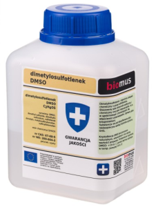Dimetylosulfotlenek DMSO 250ml BIOMUS