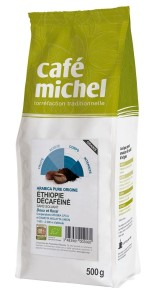 Kawa ziarnista bezkofeinowa arabica etiopia Fair Trade Bio 500 g - Cafe Michel