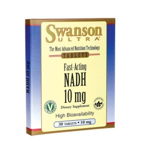 NADH Fast-Acting 10mg 30 tabletek SWANSON