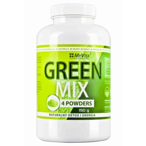 Green Mix 4 powders Detox i Energia - 150g MyVita