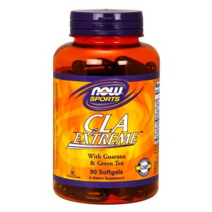 CLA Extreme z guaraną 800 mg 90 kapsułek NOW FOODS