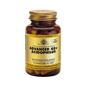 Advanced 40+ Acidophilus 60 kapsułek Solgar