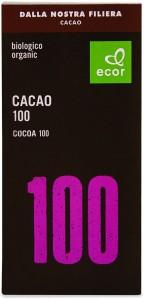 Czekolada gorzka 100% kakao BIO 80 g Ecor