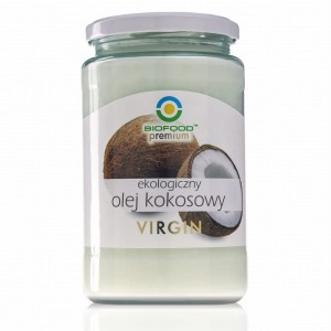OLEJ KOKOSOWY VIRGIN BIO 670 ml - BIO FOOD