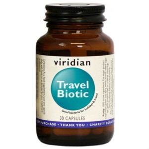 Travel biotic 30 kapsułek Viridian