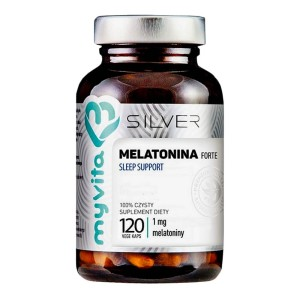 Melatonina forte Sleep support 1 mg 120 kapsułek MyVita Silver