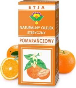 Olejek pomarańczowy eteryczny 10 ml ETJA