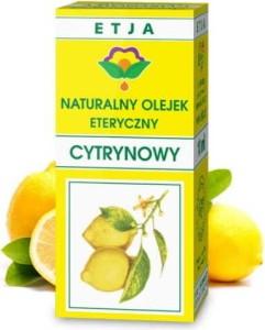 Olejek cytrynowy eteryczny 10 ml ETJA