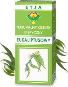 Olejek eukaliptusowy eteryczny 10 ml ETJA