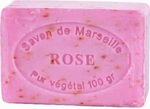 Mydło Marsylskie Płatki Róży kostka 100g CosmoSPA