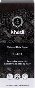 Henna - naturalna Czarna 100g - Khadi
