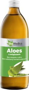 Aloes sok z miąższem 500ml EkaMedica