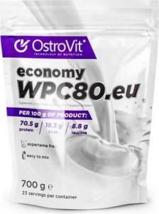 Białko serwatkowe w proszku Standard WPC80.eu 700G wanilia OstroVit