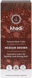 Henna - Średni Brąz 100g - Khadi