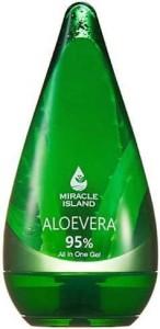 ŻEL DO PIELĘGNACJI CIAŁA ALOES 95% 250 ml - MIRACLE ISLAND