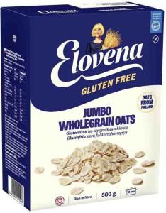 Płatki owsiane bezglutenowe Jumbo wholegrain oats 500g Elovena Provena
