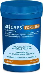 Bicaps Forslim 60 porcji 60 kapsułek 31,8 g ForMeds