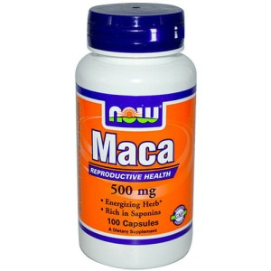 Korzeń Maca 500mg 100 kaps. NOW FOODS