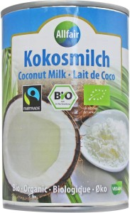 KOKOSOWA ALTERNATYWA MLEKA (18% TŁUSZCZU) FAIR TRADE BIO 400 ml - ALLFAIR