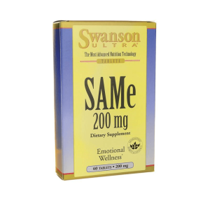 SAMe S-adenozylo L-metionina 200mg 60 tabletek SWANSON