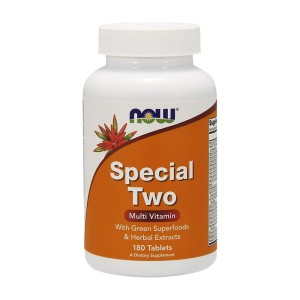 Multiwitamina z minerałami Multi Vitamin Special Two 180 tab. NOW FOODS