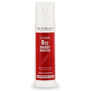 Witamina B12 Energy Booster spray 166mcg 25ml Dr. Mercola
