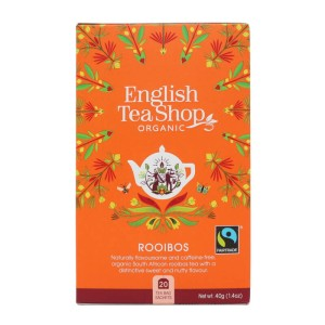 Herbatka Rooibos 20x2g BIO 40 g English Tea Shop