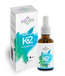WITAMINA K2 W KROPLACH (100mcg) 30 ml - SOUL FARM