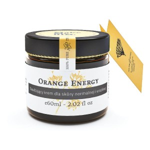 Nawilżający krem do skóry normalnej 60ml Orange energy Make me BIO