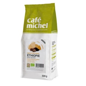 Kawa ziarnista arabica sidamo etiopia fair trade bio 500 g - Cafe Michel