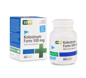 Kolostrum Forte Colostrum 500 mg 60 kapsułek VIRDE