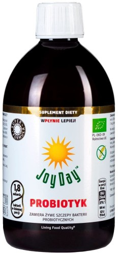 SUPLEMENT DIETY PROBIOTYK BIO 500 ml - JOY DAY
