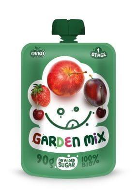 Przecier mix owoców po 6 miesiącu życia BIO 90 g Ovko