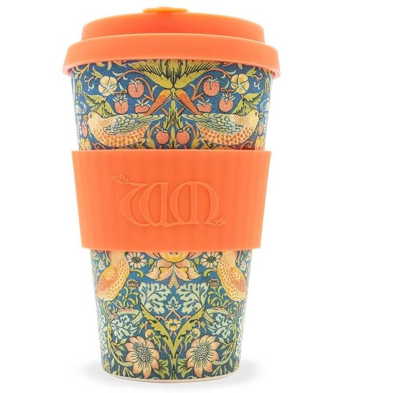 KUBEK Z WŁÓKNA BAMBUSOWEGO THIEF 400 ml - ECOFFEE CUP