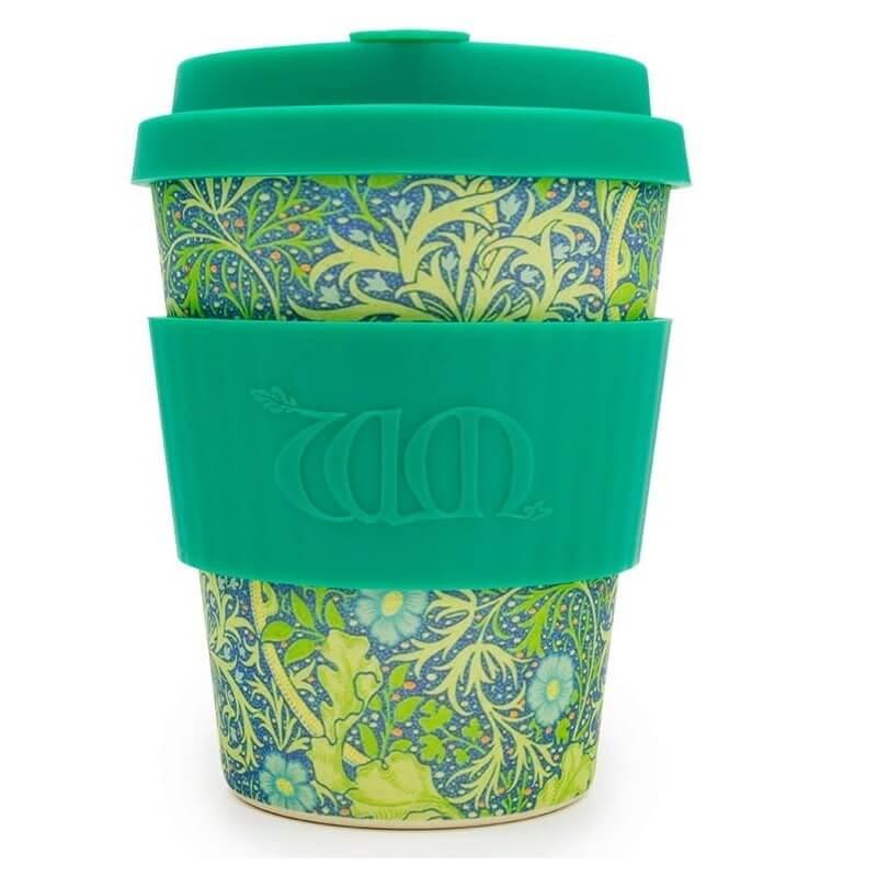 Kubek z włókna bambusowego i kukurydzianego Seaweed Marine 350 ml - Ecoffee Cup