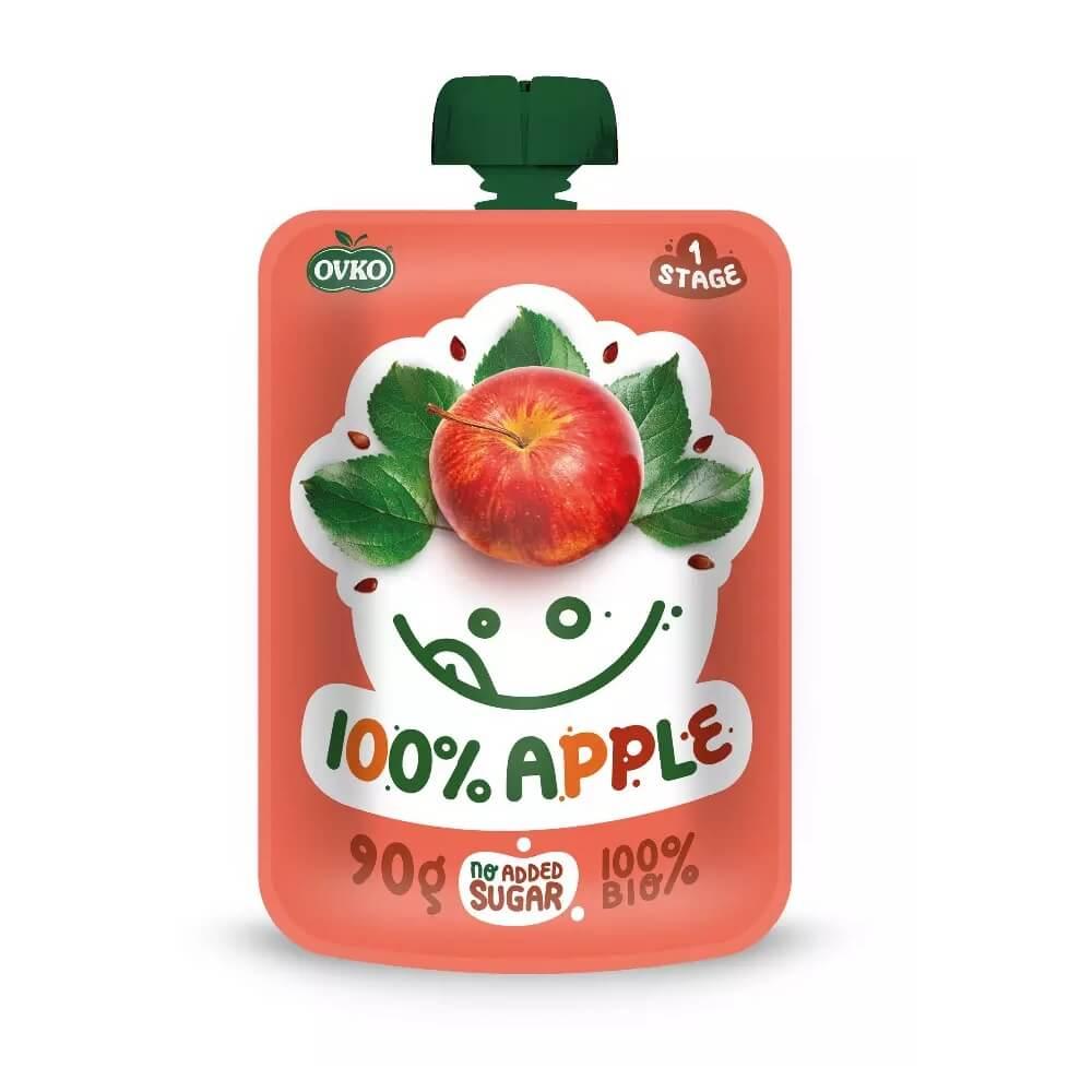 Przecier jabłkowy po 6 miesiącu życia BIO 90 g Ovko
