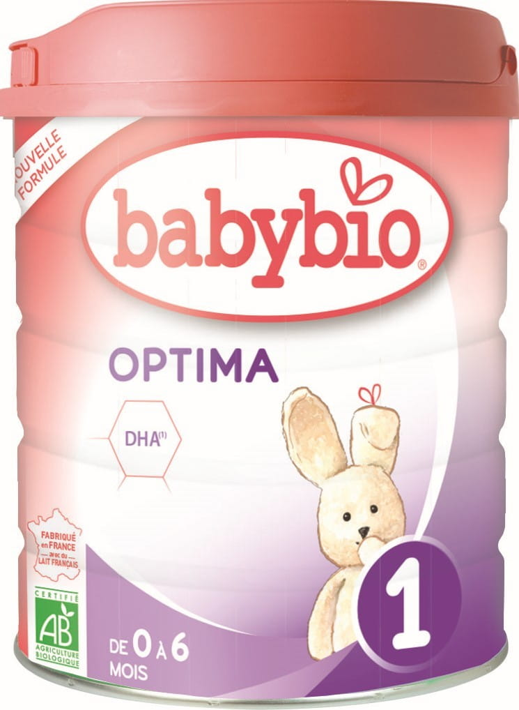 Mleko początkowe dla niemowląt od 0 do 6 miesięcy BIO 800 g BABYBIO