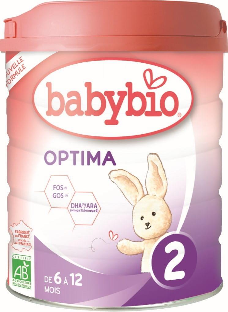 Mleko następne od 6 do 12 miesięcy BIO 800 g BABYBIO